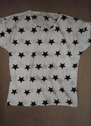 Блуза в звезды, м (44)
