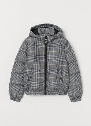 Водоотталкивающая куртка h&m 0759602002 серого цвета