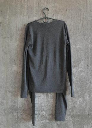 Термобелье женское серое qztas  комплект штны + кофта2 фото