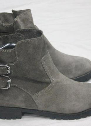 Ботинки полуботинки сапоги h & m новые , натуральная замша
