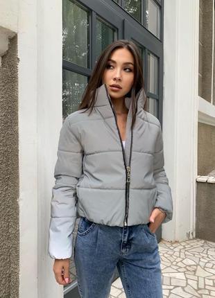 Светоотражающая куртка 🤍