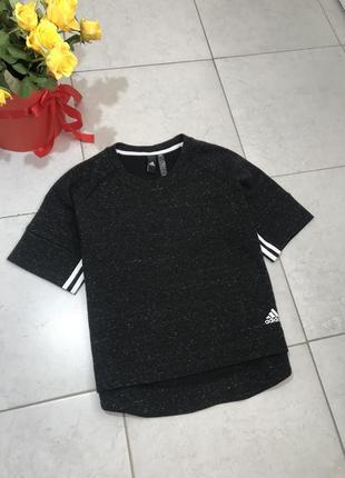 Удлиненная футболка adidas
