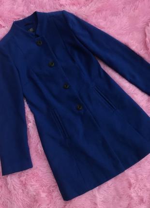 Синее пальто размер 8