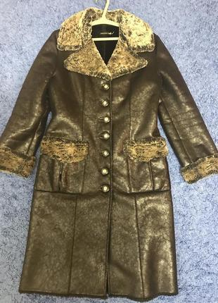 Пальто, зимнее пальто, дубленка