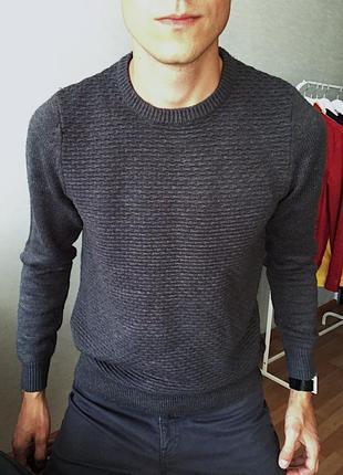 Мужской свитер светр clockhouse
