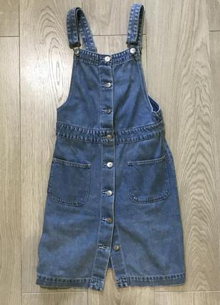 Идеальный джинсовый комбинезон