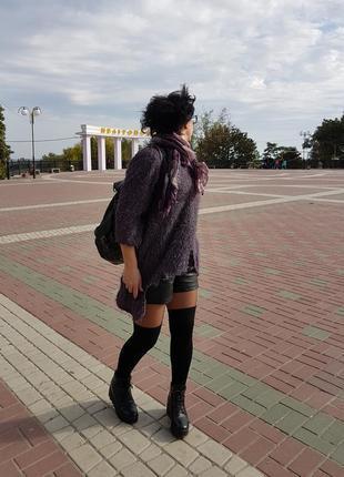 Гетры высокие носки чулки на осень черные