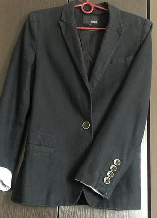 Пиджак лен льняной