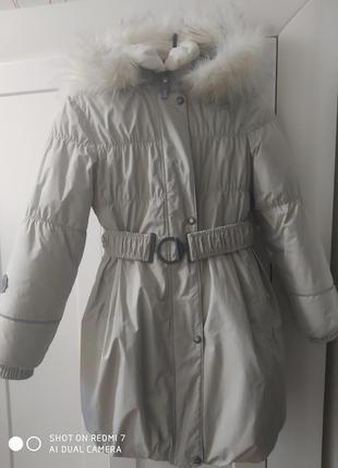 Зимова дитяча куртка lenne