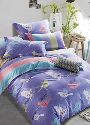 Распродажа хлопковое постельное белье из мягкого прочного сатина с красивым принтом