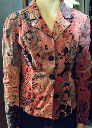 Жакет женский вельветовый нарядный #rocobaroco оригинал