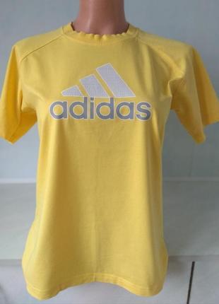 Брендовая натуральная футболка adidas