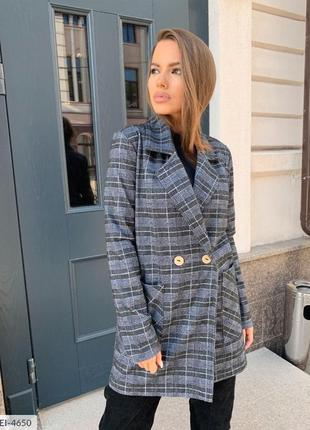 Пиджак удлиненный длинный