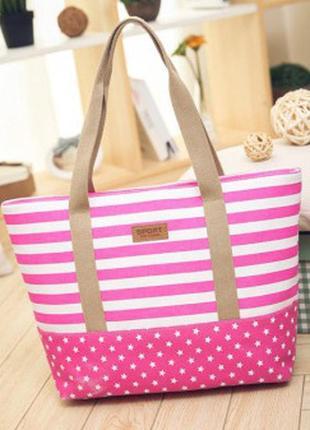 Пляжная сумка. сумка холст