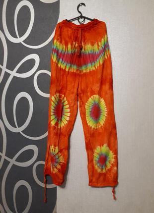 Штаны индейца, яркие штаны