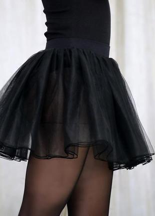 Фатиновая юбка 3-х слойная в наличии.