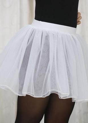 Фатиновая юбка 3-х слойная.