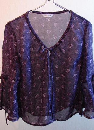 Лёгкая летняя блуза шифон