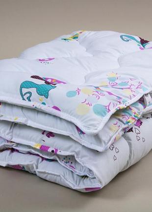 Одеяло детское ковдра зимнее зима