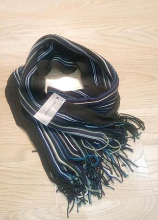 Стильный и теплый мужской шарф