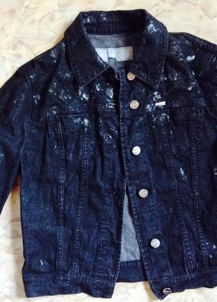 Джинсовая куртка, пиджак iceberg оригинал италия