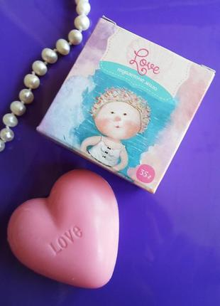 Ароматное мыло love, гапчинская