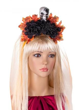 Венок на голову украшение на хэллоуин морена