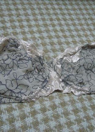 Нежный бюстгальтер браллет, кружевной лифчик с вышивкой