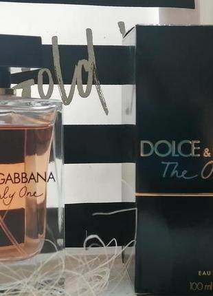 Женские духи dolce&gabbana the only one