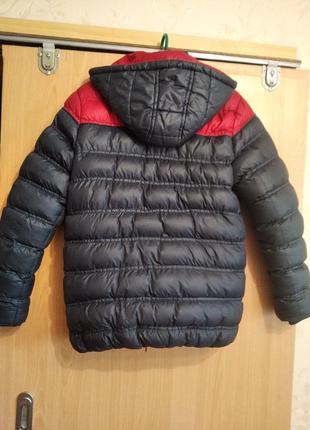 Осенне-зимняя куртка на мальчика