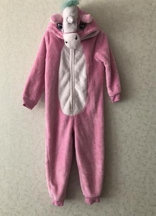 Пижамка единорог