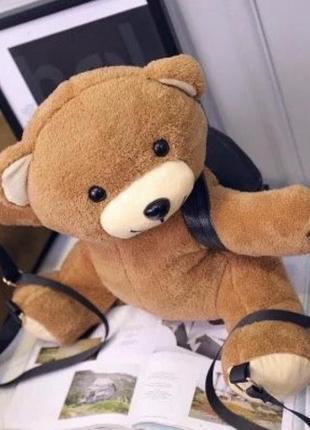 Оригинальный рюкзак медведь мишка