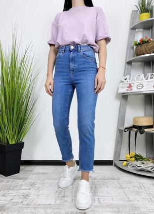Джинсы высокая посадка плотные в винтажном стиле винтаж asos