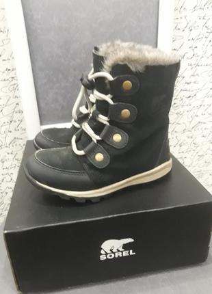 Зимние ботинки sorel