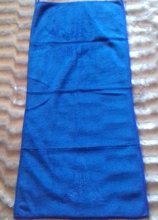 Полотенце париж 75 х35см из микрофибры. отличного качества.