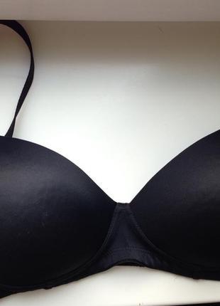 Бюстгальтер  чорний 34d/75d