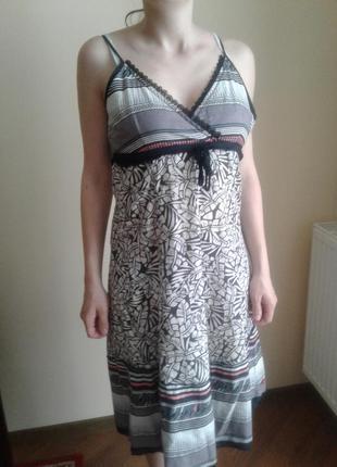 Котоновое платья