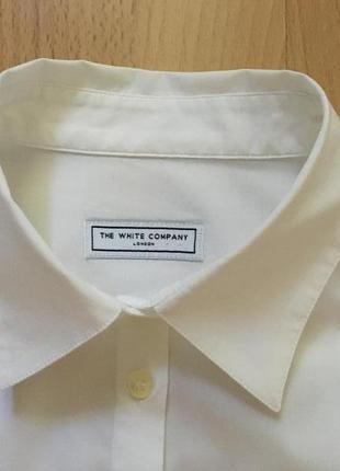 Белая рубашка the white company5 фото
