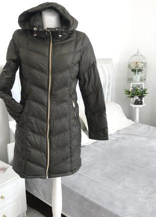 Ультралегкое пуховое пальто calvin klein {90 % утиный пух }