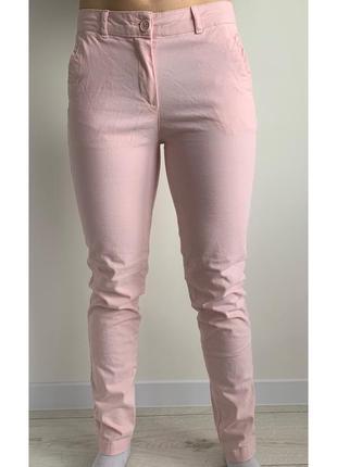 Штани світло рожеві, розовые брюки, светлые брюки.