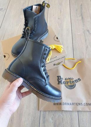 Ботинки на низкой платформе 👢 ботинки dr.martens