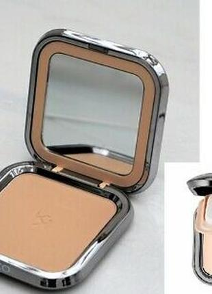 Компактная пудровая тональная основа с минералами kiko skin tone powder foundation 05 ,10