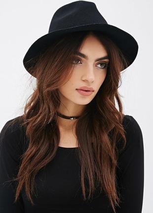 13-6 модная весенне-осенняя шляпа федора женская шляпа с широкими полями