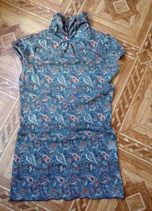Нарядная летняя футболка zara