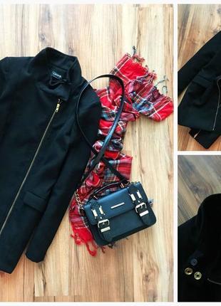 Крутое черное  пальто   george