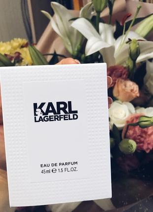 Парфюмированная вода karl lagerfeld