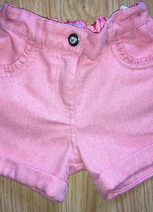 Твидовые шорты для девочки