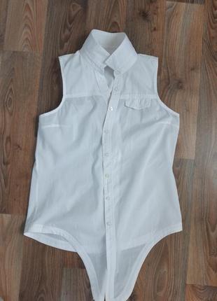 Рубашка безрукавка хлопок colin's