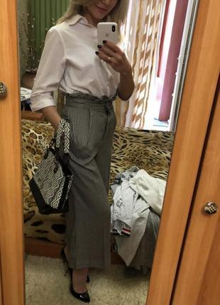 Модные брюки кюлоты