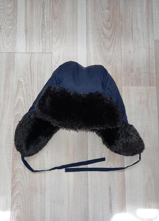 Зимняя шапка ушанка